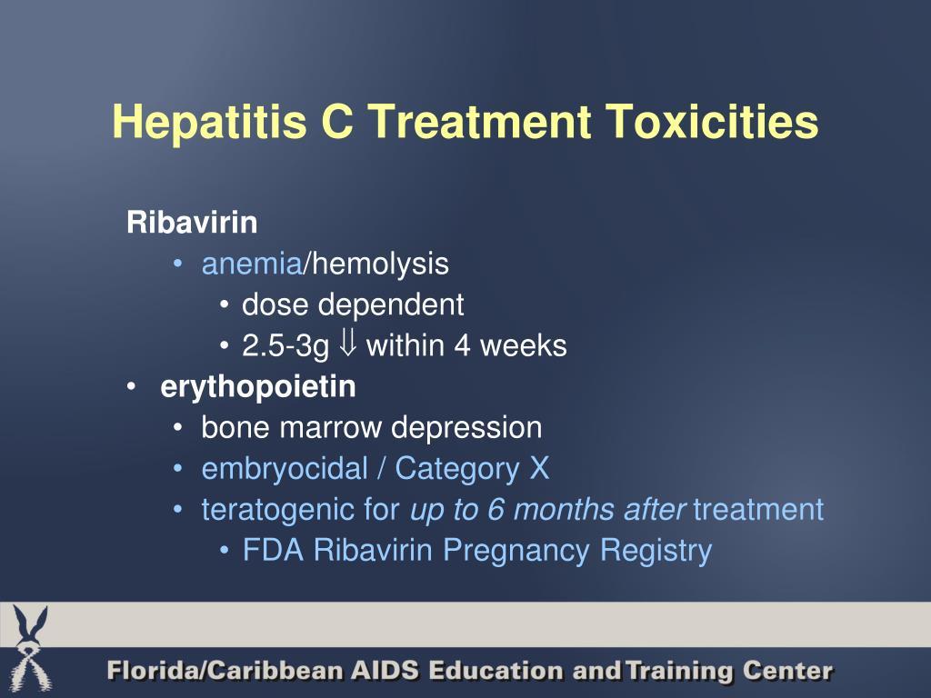 Hepatitis C Treatment Toxicities