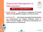 subcontract management administration4