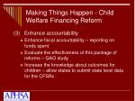 making things happen child welfare financing reform16