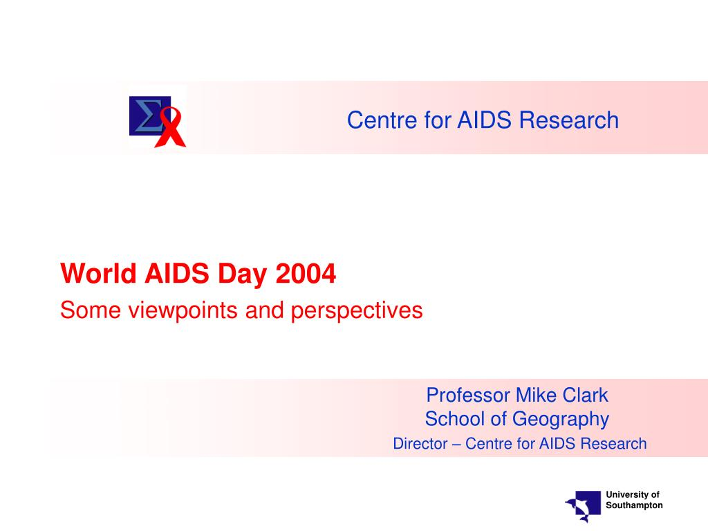 centre for aids research l.