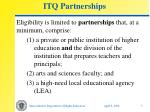 itq partnerships