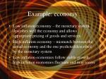 example economy
