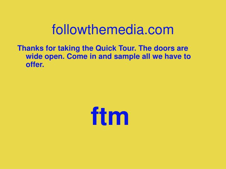 followthemedia.com