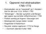 oppr ret mot ekstraskatten 1765 1772