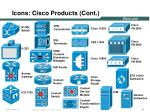 icons cisco products cont6