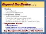 beyond the basics11