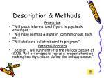 description methods21