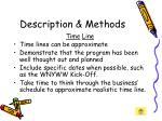 description methods26