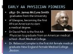 early aa physician pioneers10