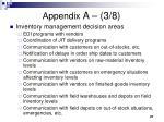 appendix a 3 8