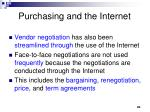 purchasing and the internet20