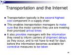 transportation and the internet25