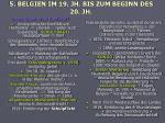 5 belgien im 19 jh bis zum beginn des 20 jh