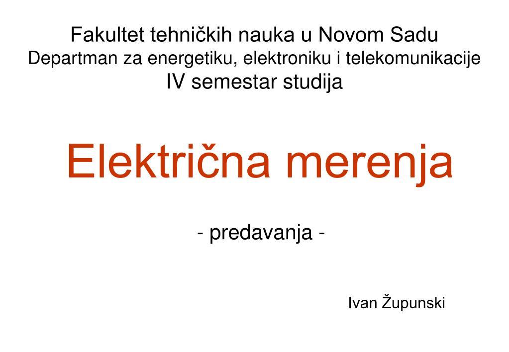 elektri na merenja l.