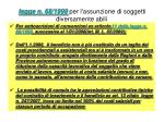legge n 68 1999 per l assunzione di soggetti diversamente abili