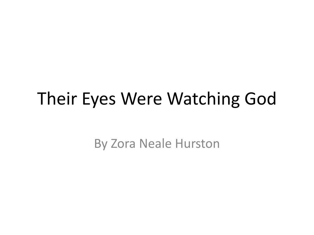 their eyes were watching god l.