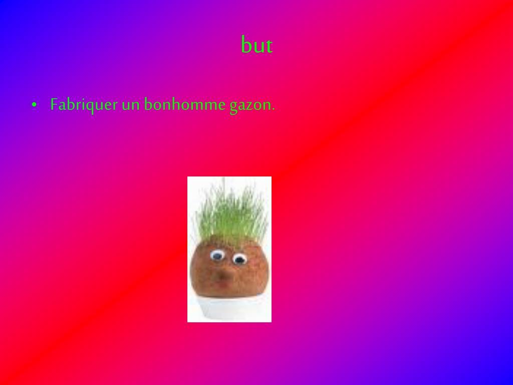 ppt le bonhomme gazon powerpoint presentation id 538738. Black Bedroom Furniture Sets. Home Design Ideas