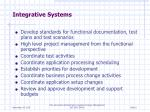 integrative systems