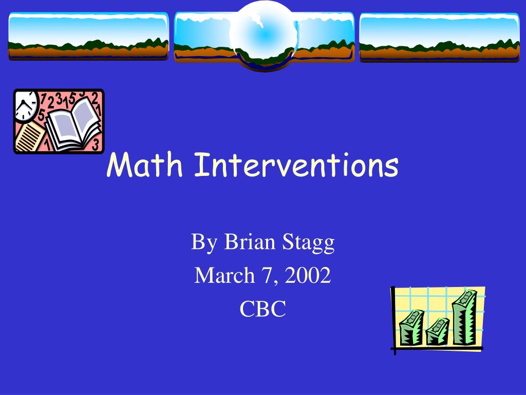 math interventions l.