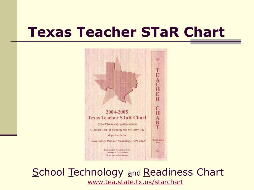 texas teacher star chart l.