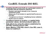 georel extends iso rel