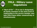 fmla military leave regulations32