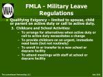 fmla military leave regulations35