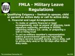 fmla military leave regulations36