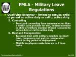 fmla military leave regulations37