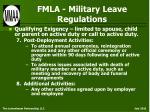 fmla military leave regulations38