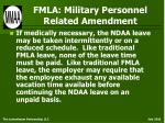 fmla military personnel related amendment15