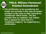 fmla military personnel related amendment16