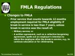 fmla regulations