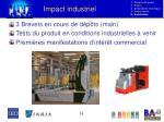 impact industriel