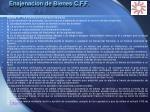 enajenacion de bienes c f f