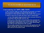 statutory easements19