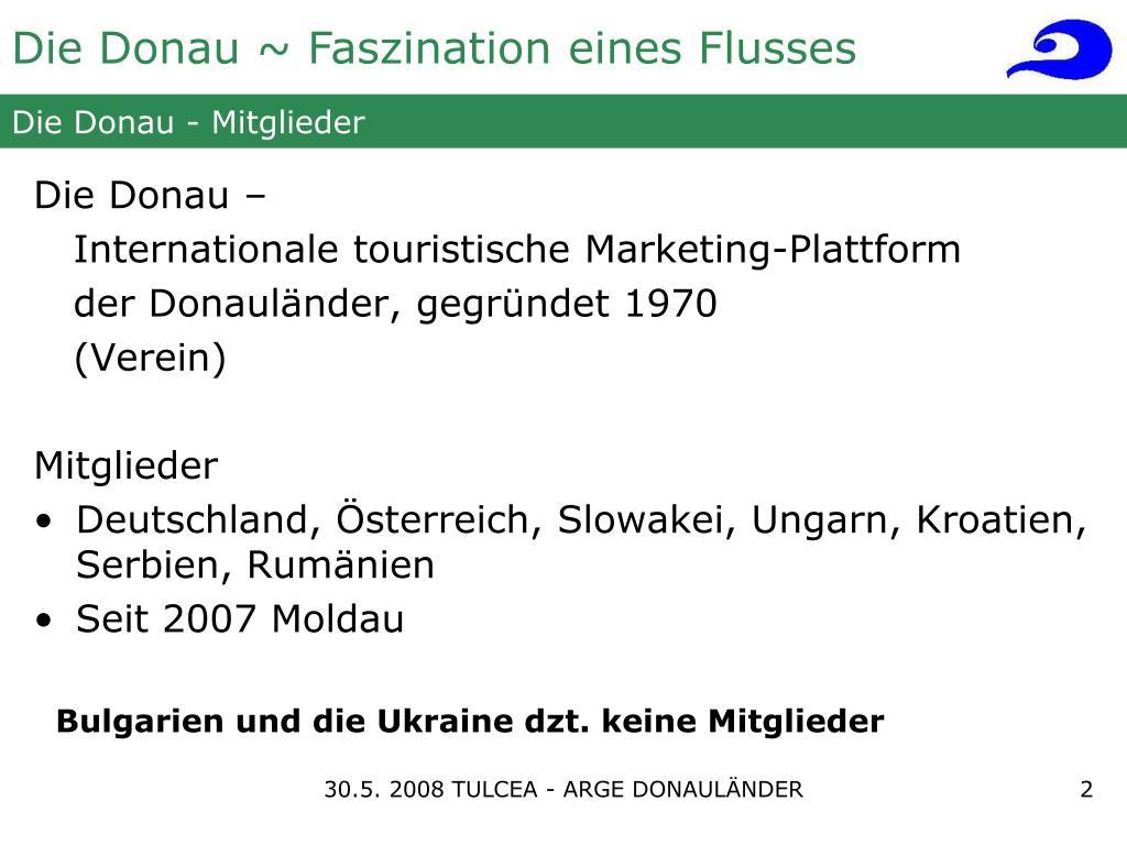 Die Donau - Mitglieder