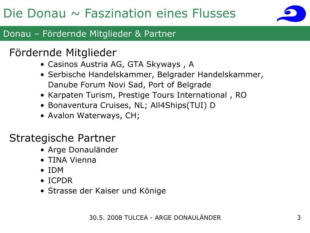 Donau – Fördernde Mitglieder & Partner