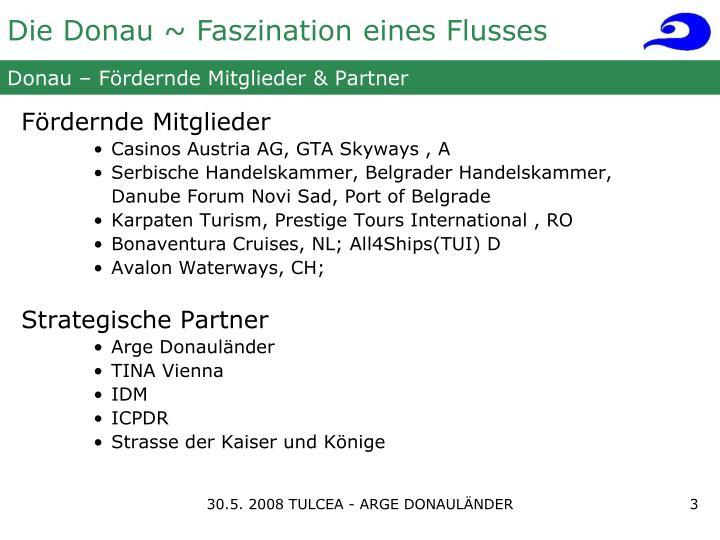 Donau f rdernde mitglieder partner