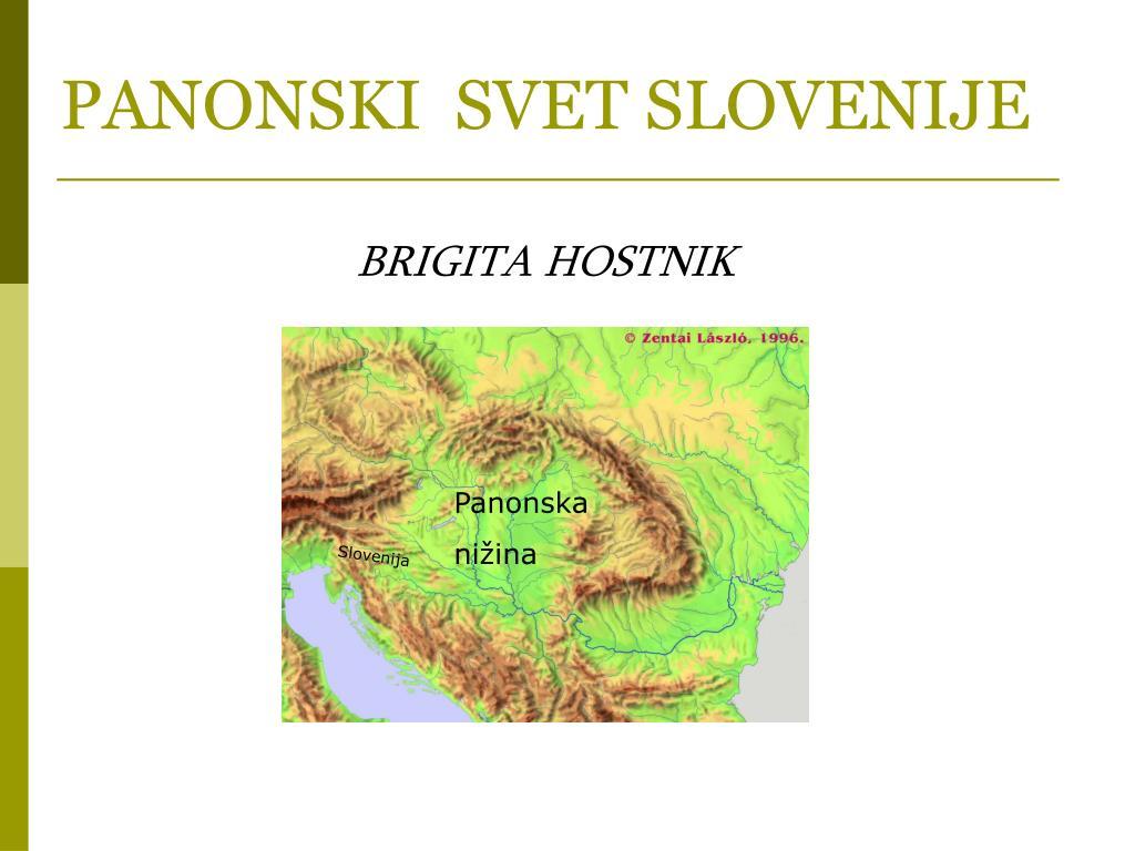 panonski svet slovenije l.