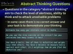 abstract thinking questions37