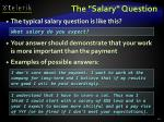 the salary question43