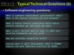 typical technical questions 6