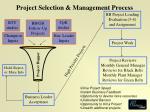 project selection management process