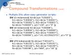 compound transformations cont48