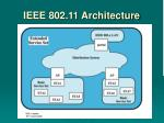ieee 802 11 architecture