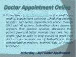 doctor appointment online