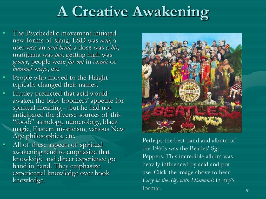 A Creative Awakening