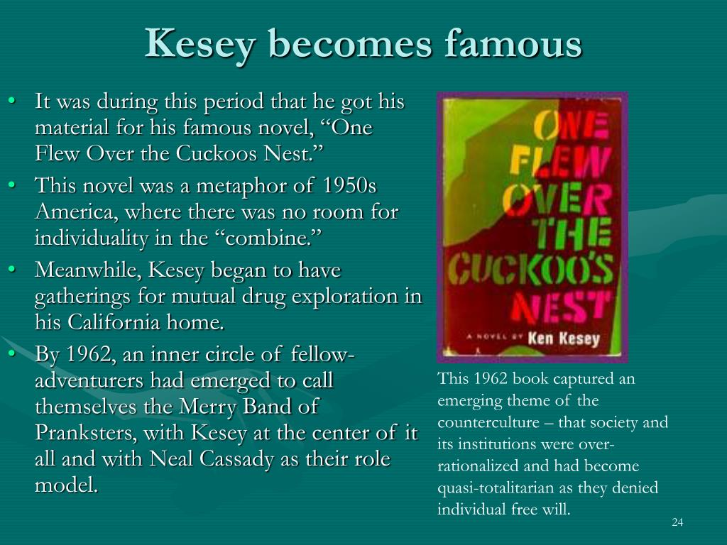 Kesey becomes famous