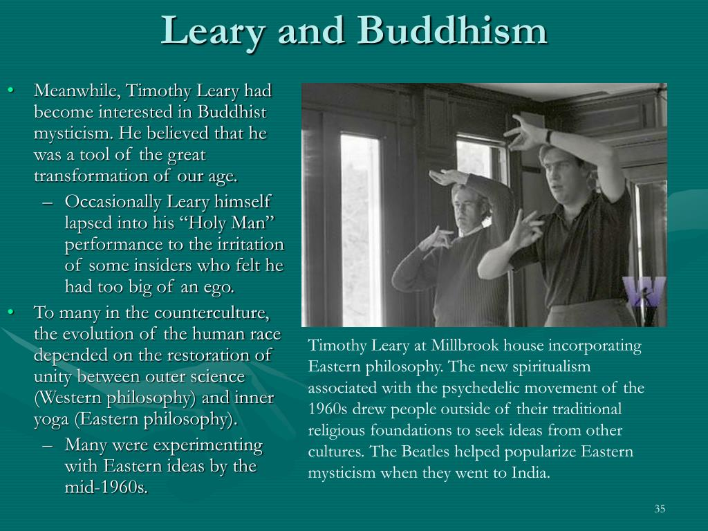 Leary and Buddhism